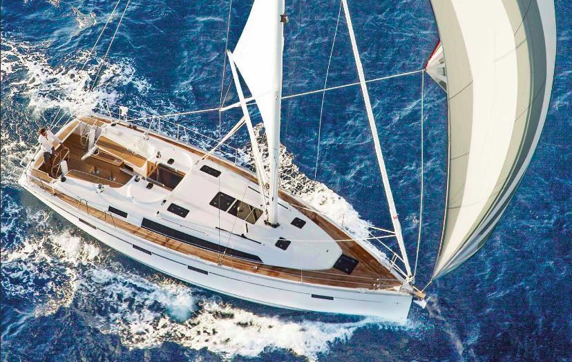 Yachtcharter Bavaria Cruiser 41 3cab top