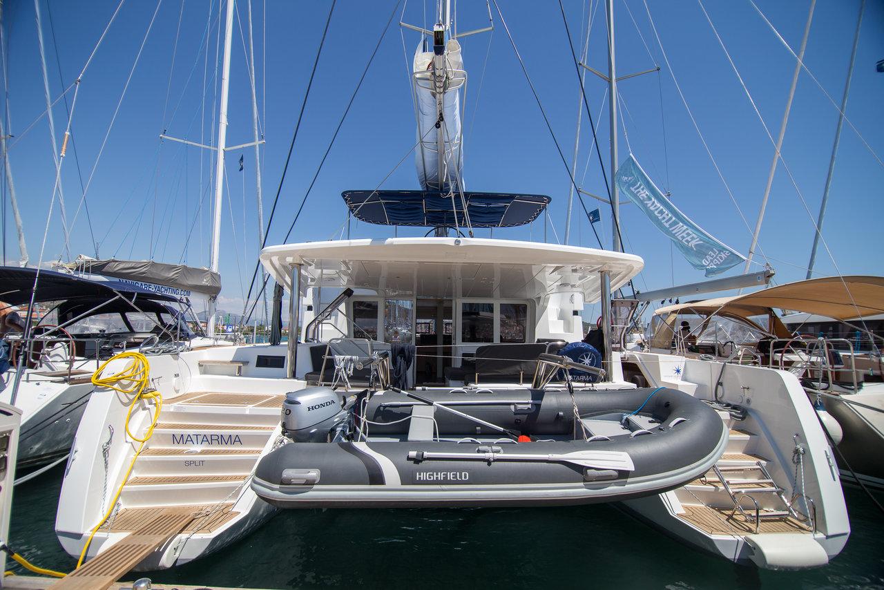 Yachtcharter Lagoon52F Matarma