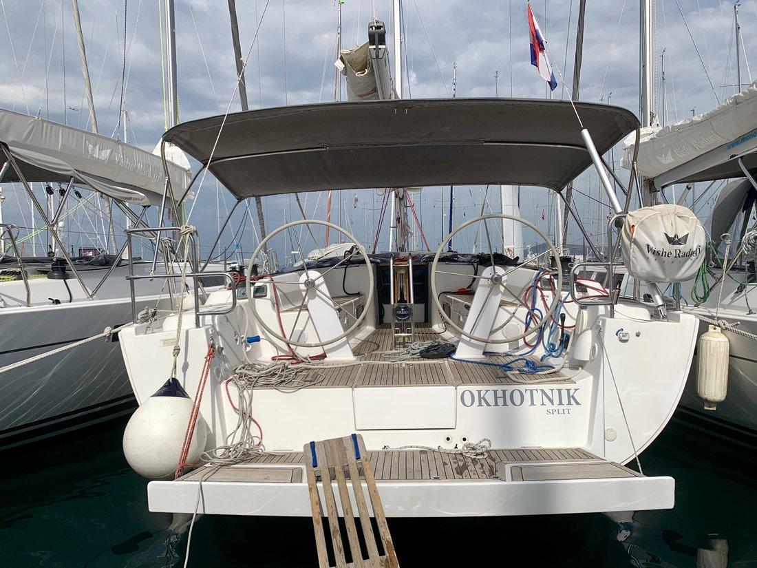 Yachtcharter Hanse445 Okhotnik   renewed 2017