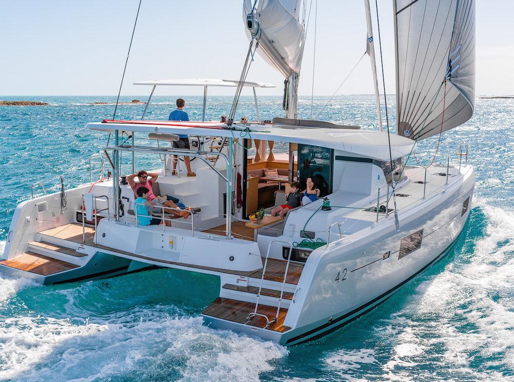 Yachtcharter Lagoon42 Miss Nastazia