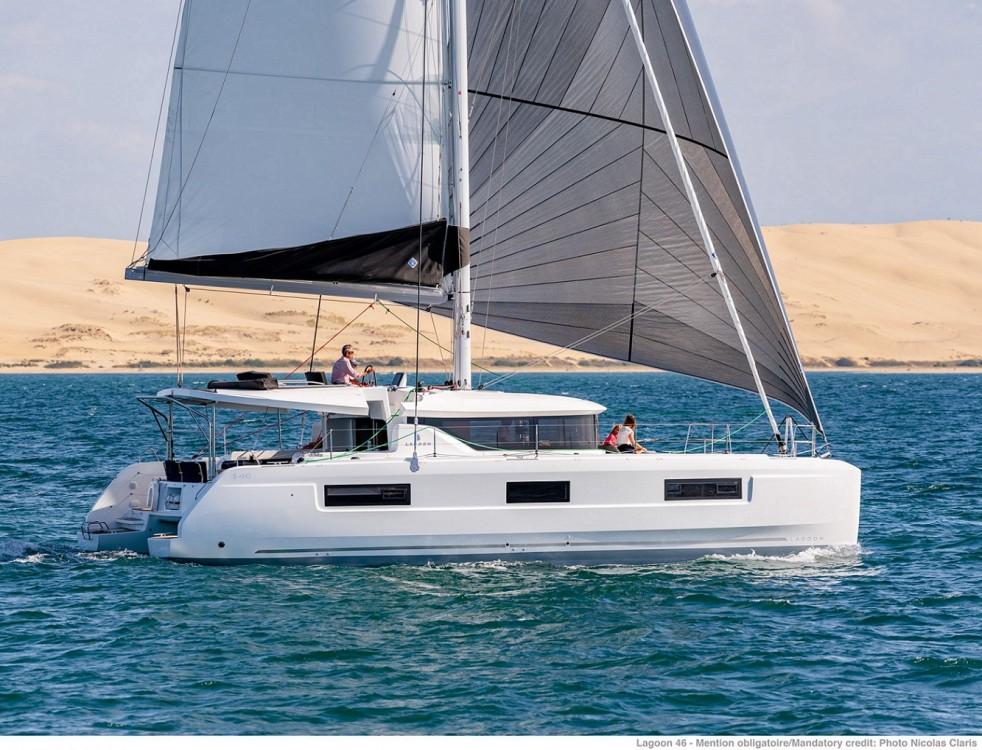Chartern Sie die Lagoon 46 SEA STAR ab Kykladen / �g�is mit -15,0% Rabatt