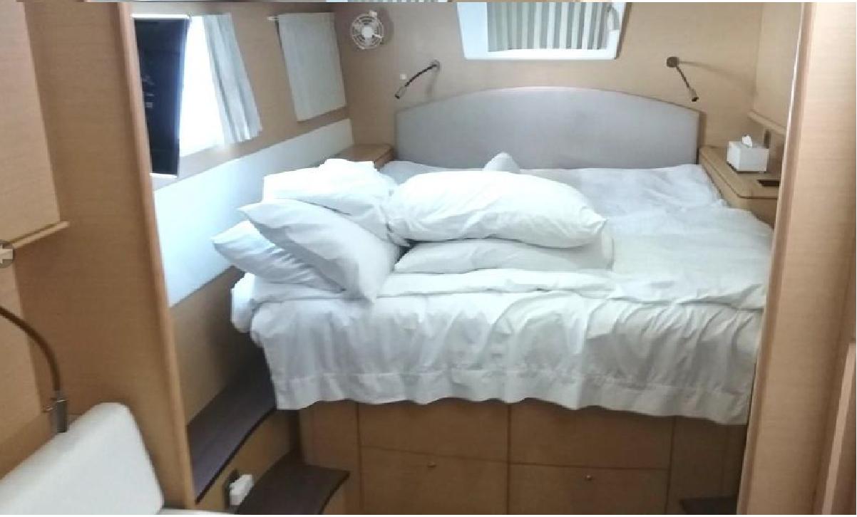 Yachtcharter Lagoon 500 4cab cabin