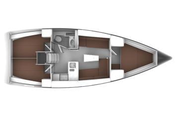Bavaria Cruiser 37 Grundriss
