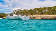 Yachtcharter Oceanis 41.1 3cab back