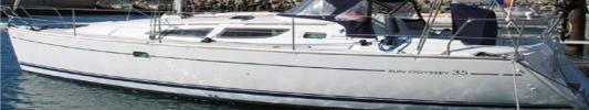 Yachtcharter Sun Odyssey 35 3Cab Main