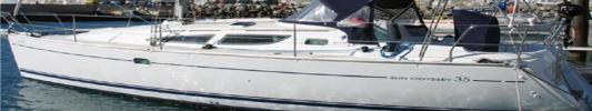Yachtcharter Sun Odyssey 35 2Cab Main