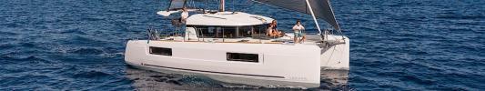 Yachtcharter Lagoon 40 cab 4 main