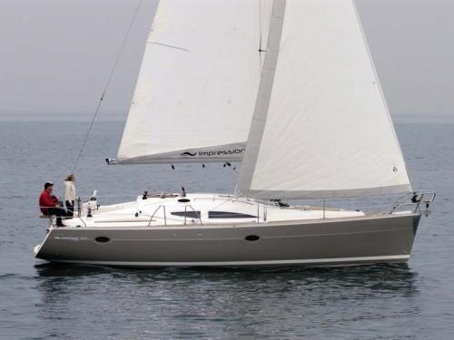 Yachtcharter Elan 384 Impression Seitenansicht 3 Cab 2 WC