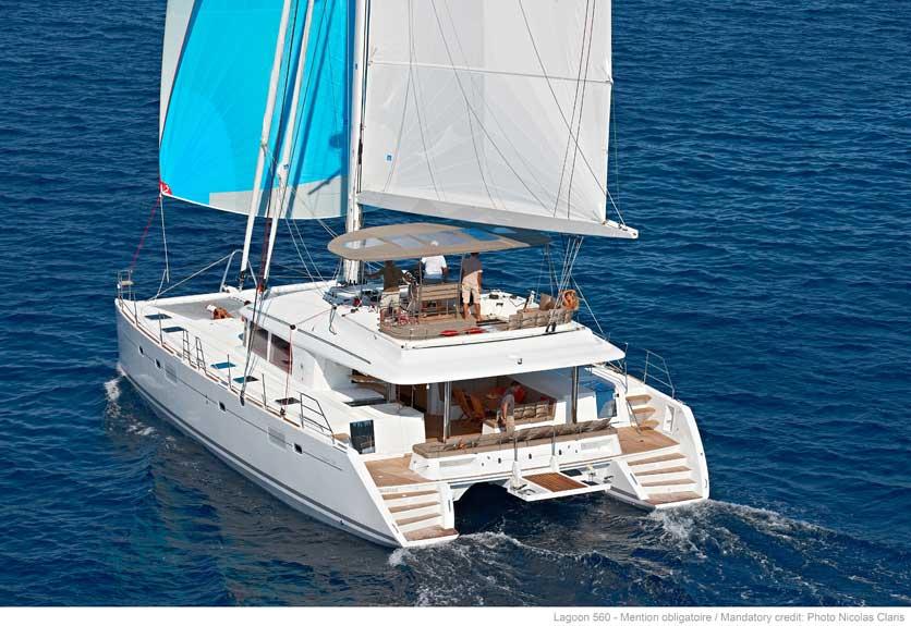 Yachtcharter Lagoon 560 Aussenansicht 1