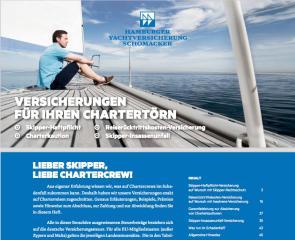 Wer eine Yacht chartert, kann aus einer Vielzahl von Versicherungen w�hlen. Welche sind sinnvoll?