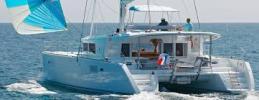 Yachtcharter Lagoon 450 F 4cab top