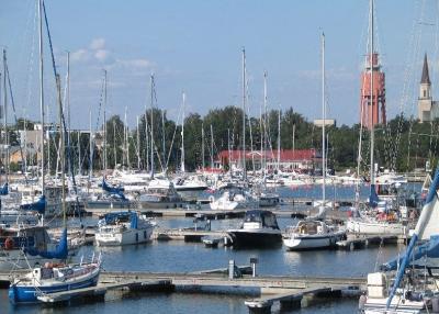Yachtcharter Finnland: Hanko, die größte Marina Finnlands