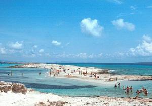 Yachtcharter Formentera: Ses Illetes, der berühmteste Strand Formenteras