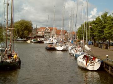 Bootscharter Ijsselmeer: Enkhuizen ist eine traditionsreiche, h?bsche Stadt