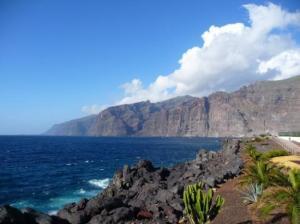 Bootscharter Kanaren: Steilküste Los Gigantes auf Teneriffa