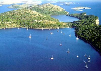 Bootscharter Kornaten-Dalmatien: Telascica auf der Insel Dugi Otok
