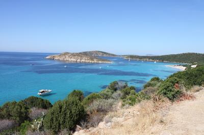 Bootscharter Sardinien: Der S?dwesten hat viele einsame Buchten wie die Cala Zafferano