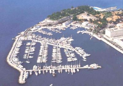 Yachtcharter Split/Dalmatien: Dalmatien hat eine hervorragende Infrastruktur für Segler - hier die ACI Marina Split