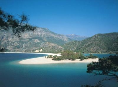 Charter T?rkei: Strand von Oludeniz bei Fethiye